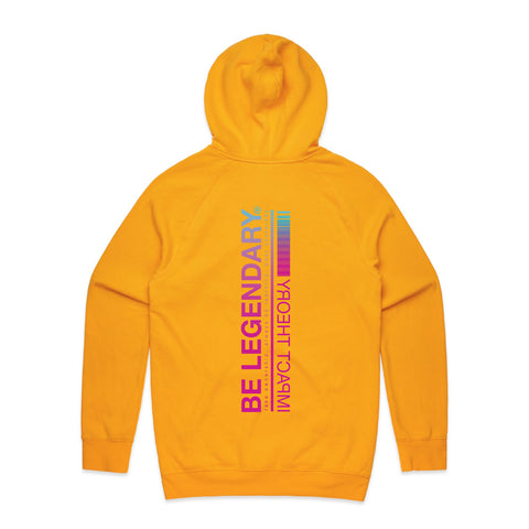 Be Legendary Gold Hoodie