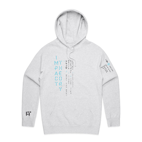 Impact Theory / Light Heather Hoodie