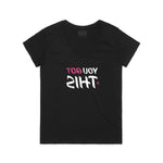 You Got This / Women's Black V-Neck