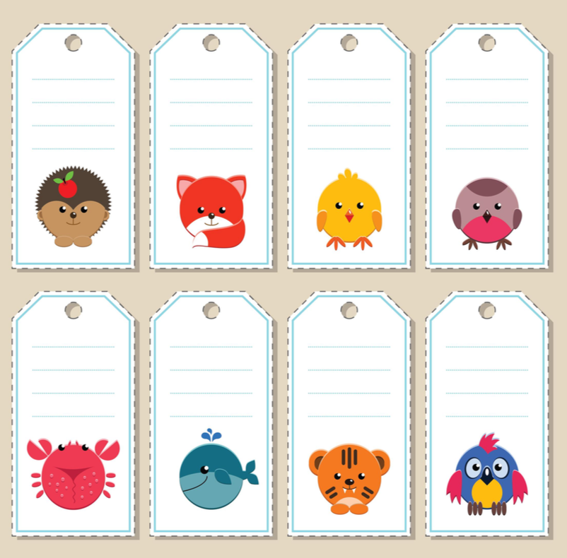image relating to Printable Name Tags named Printable Status Labels, Tags, Notes, Vol 2