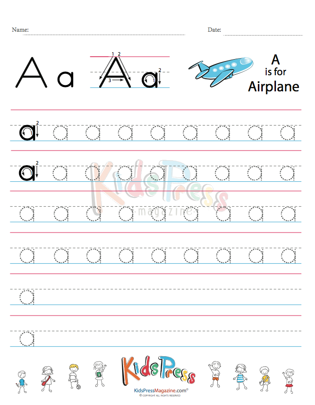 Small Letter Alphabet Handwriting Practice Bundle Vol 1 ...