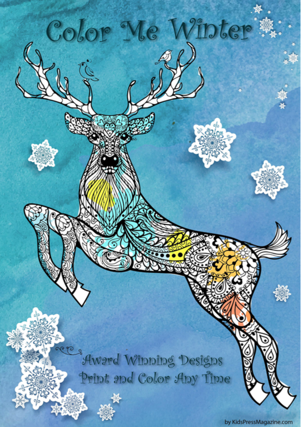 Best 45 Christmas Holidays Coloring Activities For Kids And Adults