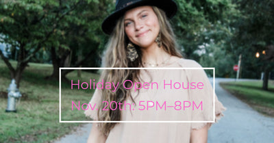 -Holiday Open House-
