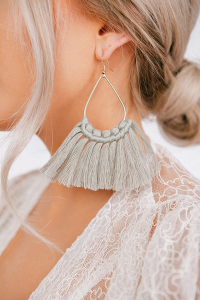 All Fringe Earrings