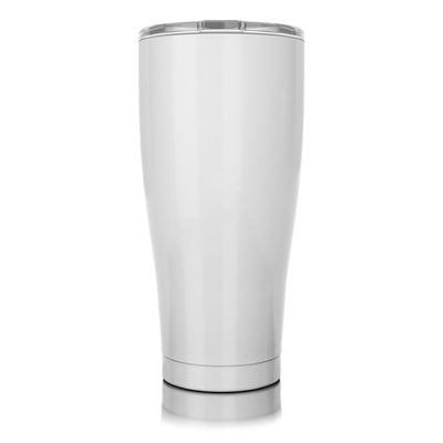 30oz Tumbler- Gloss White