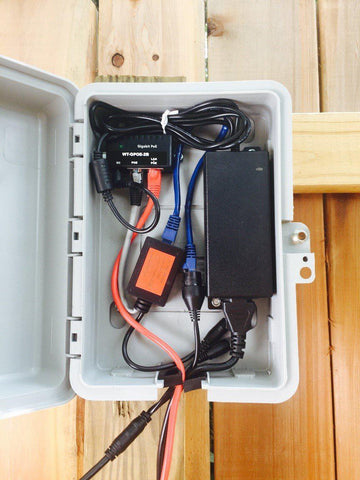 Power over Ethernet to a Remote Wifi Bridge and Device – POE