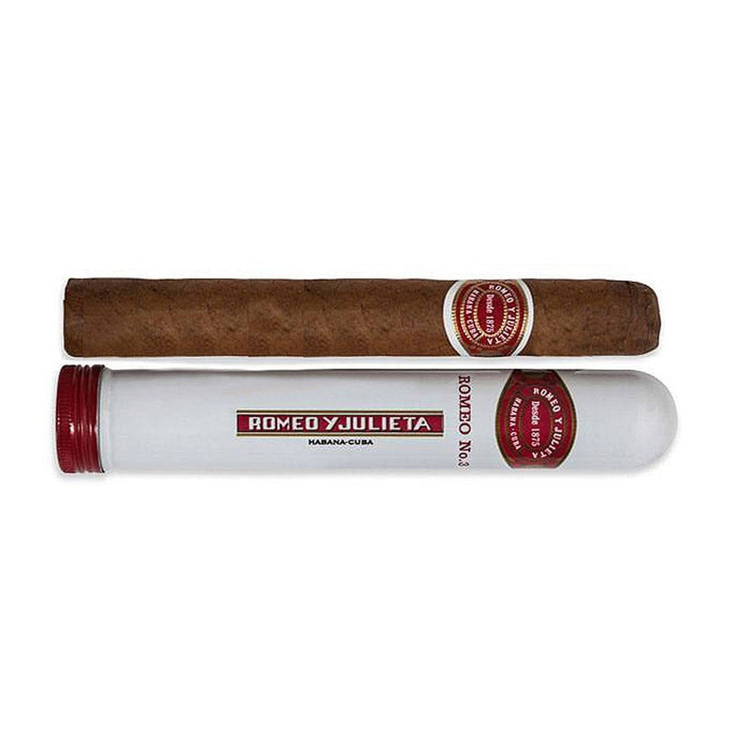 ROMEO Y JULIETA ROMEO No.3 CIGAR - Single Tubos - Premier Cru Retail Stores