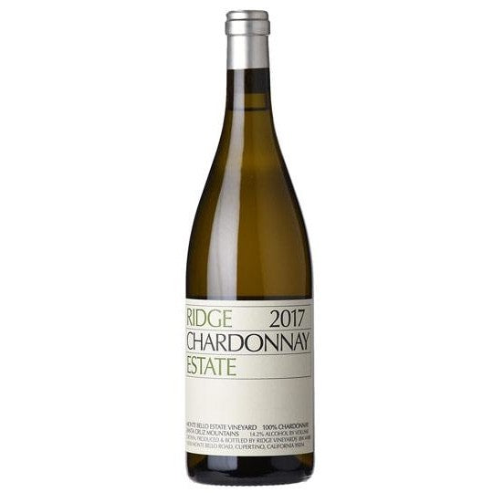 RIDGE VINEYARDS CHARDONNAY, SANTA CRUZ MOUNTAINS 75cl - Premier Cru Retail Stores