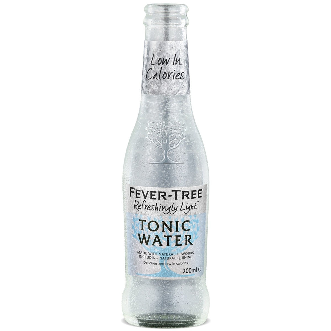 FEVER-TREE NATURALLY LIGHT TONIC WATER 200ml - Premier Cru Retail Stores