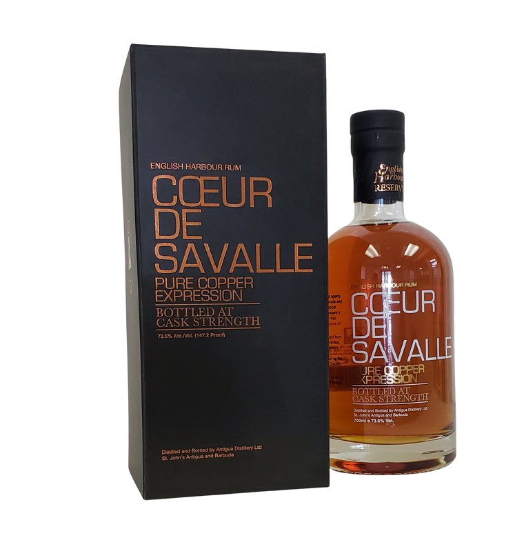 ENGLISH HARBOUR RUM 'COEUR DE SAVALLE' 750ml - Premier Cru Retail Stores