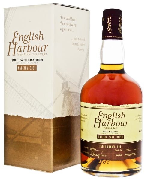 ENGLISH HARBOUR RUM AGED MADERIA CASK FINISH 750ml - Premier Cru Retail Stores