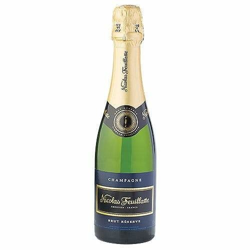 CHAMPAGNE NICOLAS FEUILLATE BRUT RESERVE 37.5cl - Premier Cru Retail Stores