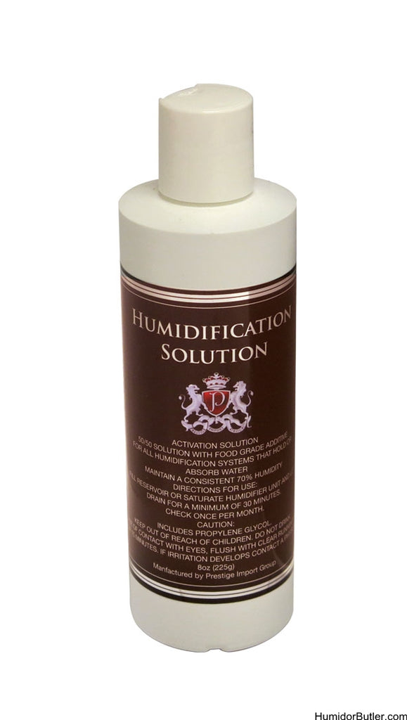 HUMIDIFICATION SOLUTION 8oz - Premier Cru Retail Stores