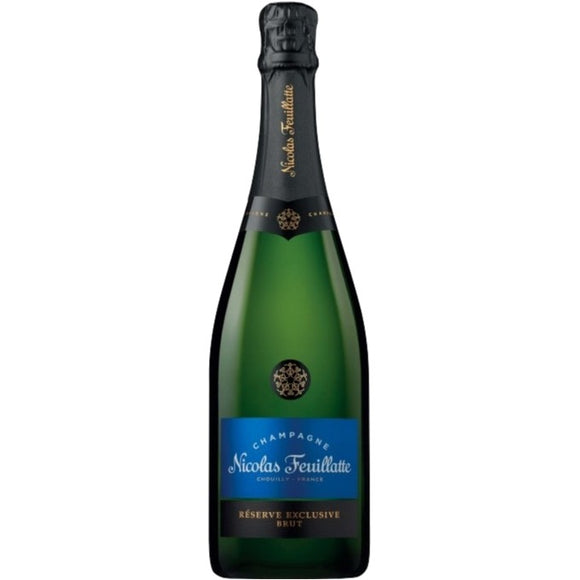 CHAMPAGNE NICOLAS FEUILLATE BRUT RESERVE 75cl - Premier Cru Retail Stores