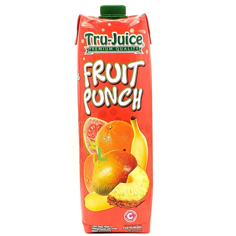 TRU-JUICE 30% FRUIT PUNCH 1 Litre - Premier Cru Retail Stores