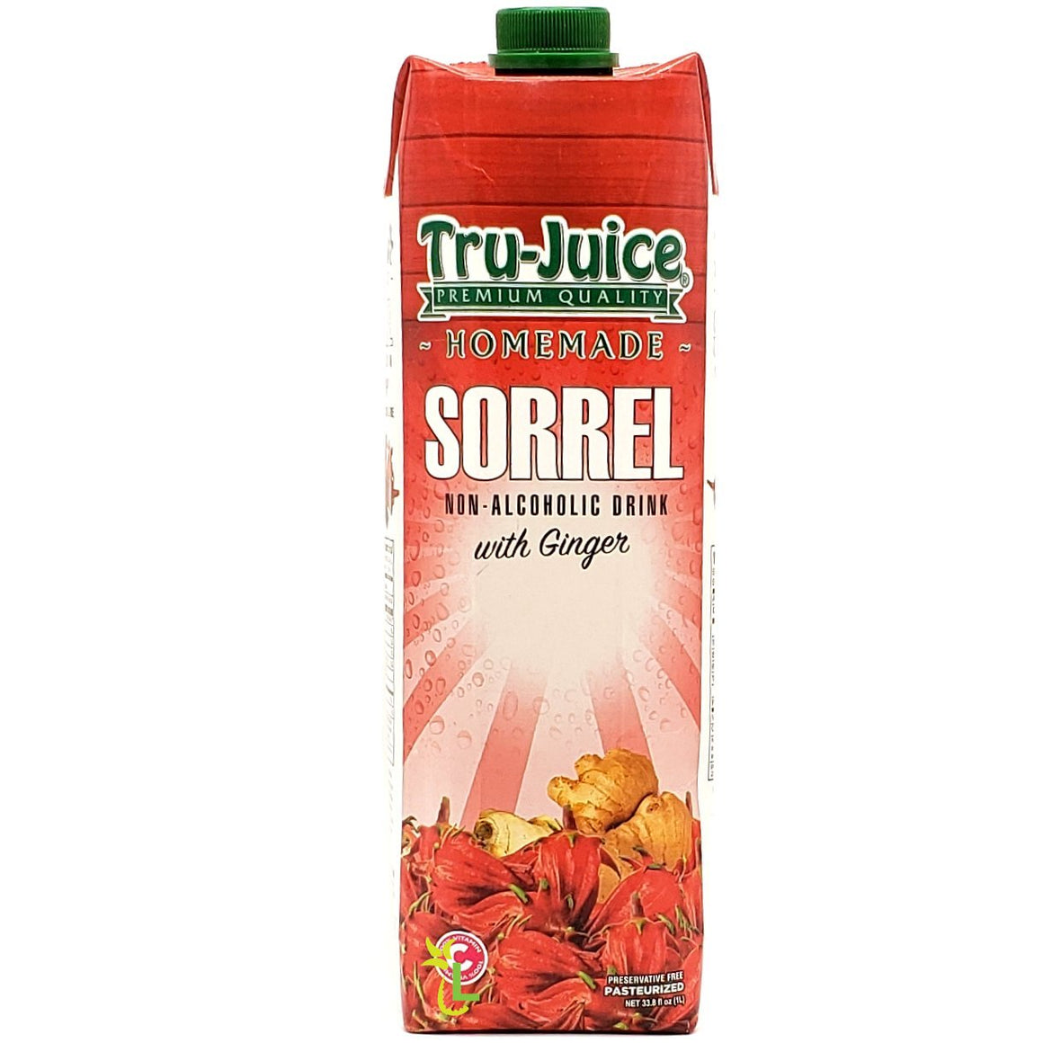 TRU-JUICE SORREL WITH GINGER 1 Litre - Premier Cru Retail Stores