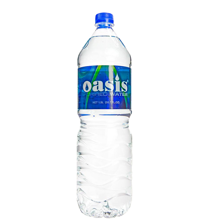 OASIS PURIFIED WATER 1.5 Litre - Premier Cru Retail Stores