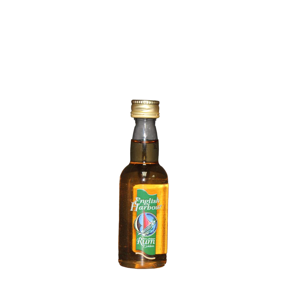 ENGLISH HARBOUR GOLD ANTIGUA RUM 50ml - Premier Cru Retail Stores