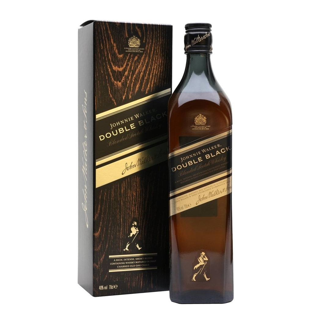 JOHNNIE WALKER DOUBLE BLACK BLENDED SCOTCH 1 Litre - Premier Cru Retail Stores