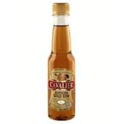 CAVALIER ANTIGUA RUM GOLD (PET) 250ml - Premier Cru Retail Stores