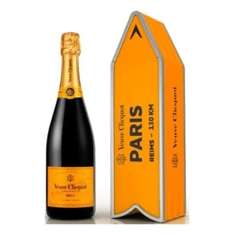 VEUVE CLIQUOT ARROW LIMITED EDITION 75cl - Premier Cru Retail Stores