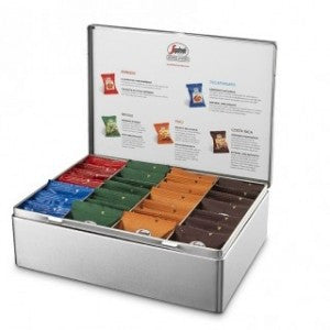 SEGAFREDO TIN GIFT BOX ESPRESSO COFFEE SELECTION - Premier Cru Retail Stores