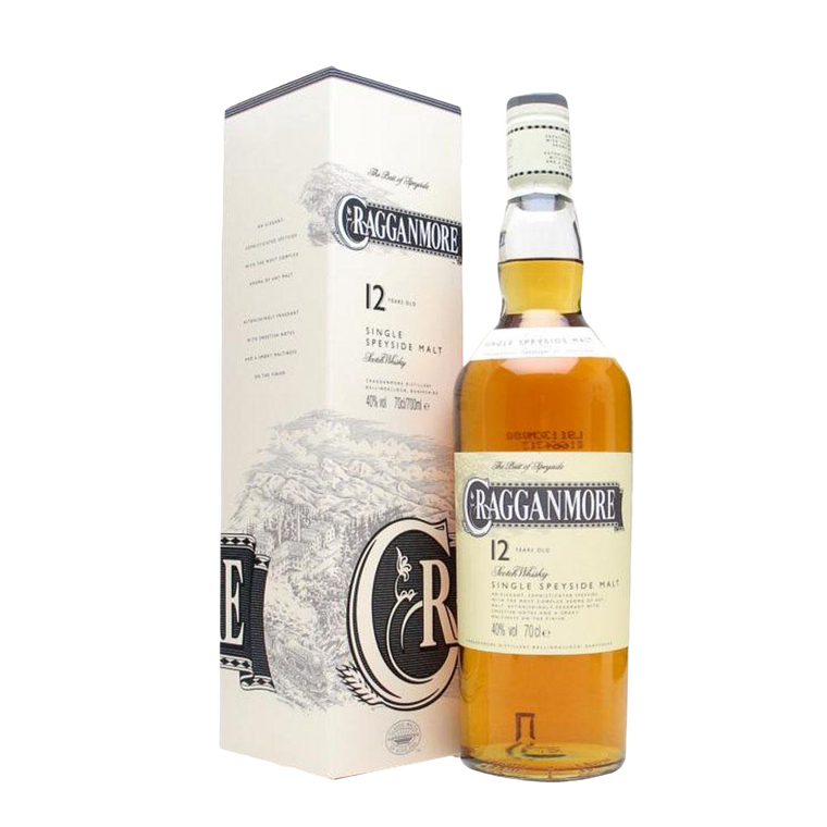 CRAGGANMORE 12YR SINGLE MALT SCOTCH 1 Litre - Premier Cru Retail Stores
