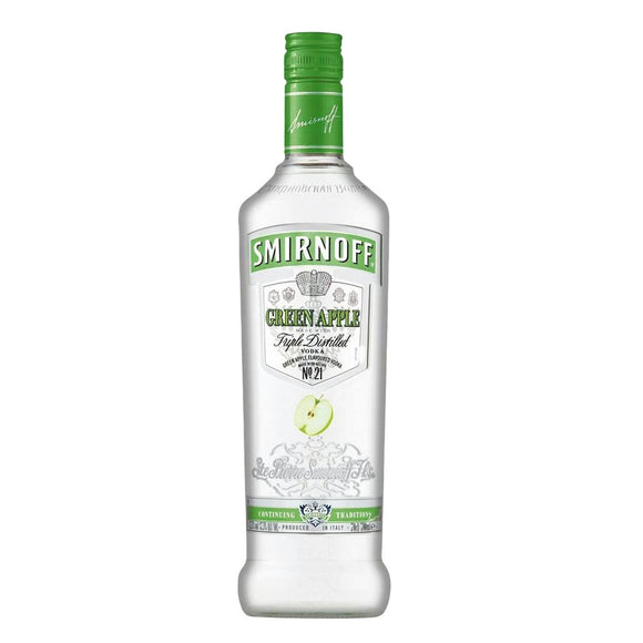 SMIRNOFF APPLE VODKA 1 Litre - Premier Cru Retail Stores