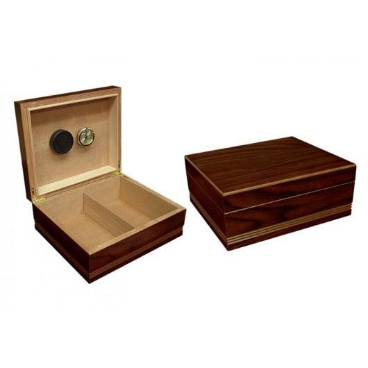 THE DUKE ROUTERED DESIGN CIGAR HUMIDOR - Premier Cru Retail Stores