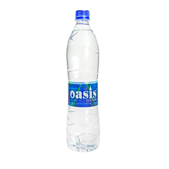 OASIS PURIFIED WATER 650ml FLAT CAP - Premier Cru Retail Stores
