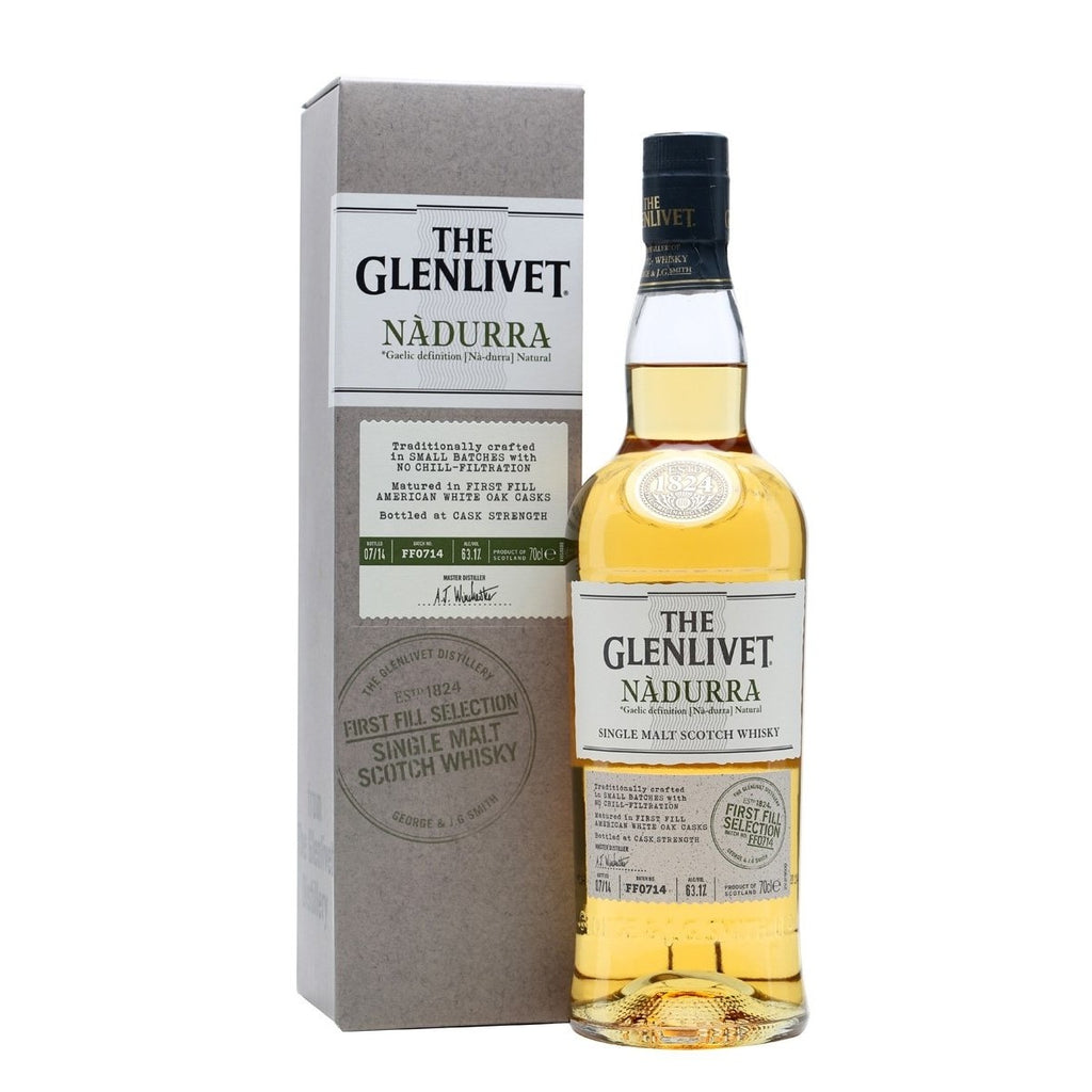 THE GLENLIVET NÀDURRA FIRST FILL SINGLE MALT SCOTCH 750ml - Premier Cru Retail Stores