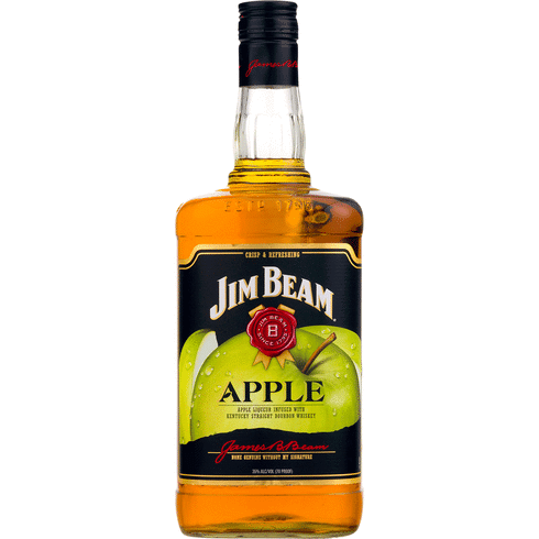 JIM BEAM APPLE WHISKEY 1 Litre - Premier Cru Retail Stores