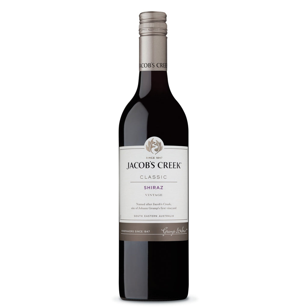 JACOB'S CREEK CLASSIC SHIRAZ 75cl - Premier Cru Retail Stores