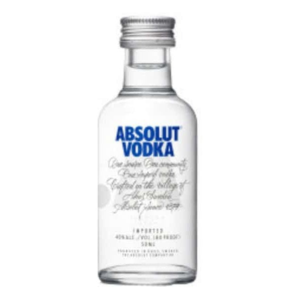 ABSOLUT BLUE VODKA 50ml - Premier Cru Retail Stores
