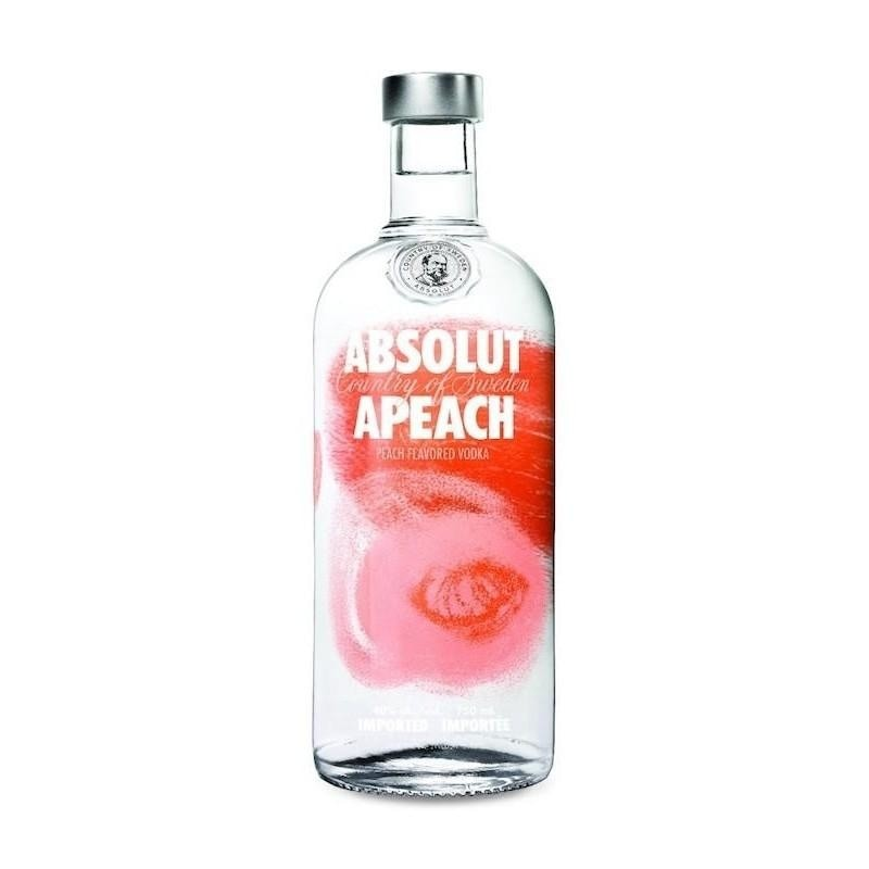 ABSOLUT APEACH VODKA 1 Litre - Premier Cru Retail Stores