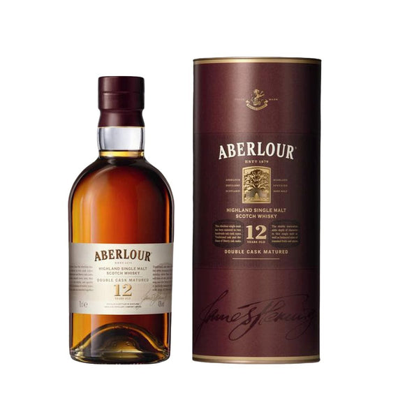 ABERLOUR 12YR DOUBLE CASK SINGLE MALT SCOTCH 750ml - Premier Cru Retail Stores