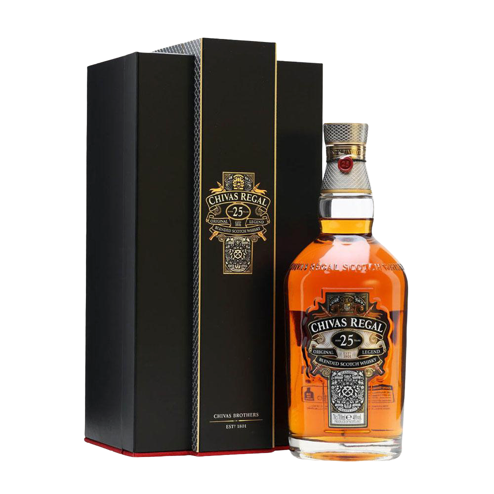 CHIVAS REGAL 25YR BLENDED SCOTCH 700ml - Premier Cru Retail Stores