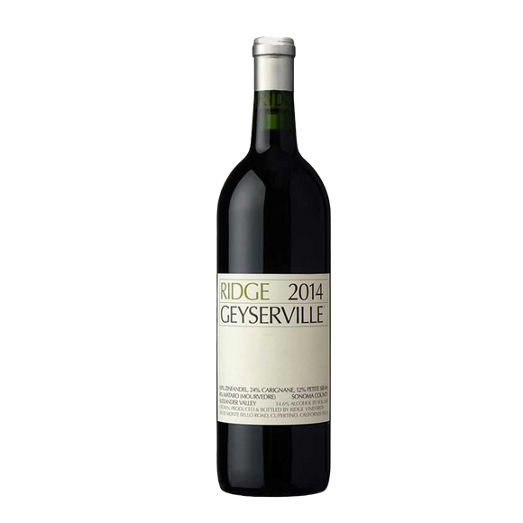 RIDGE VINEYARDS GEYSERVILLE, SONOMA COUNTY 75cl - Premier Cru Retail Stores