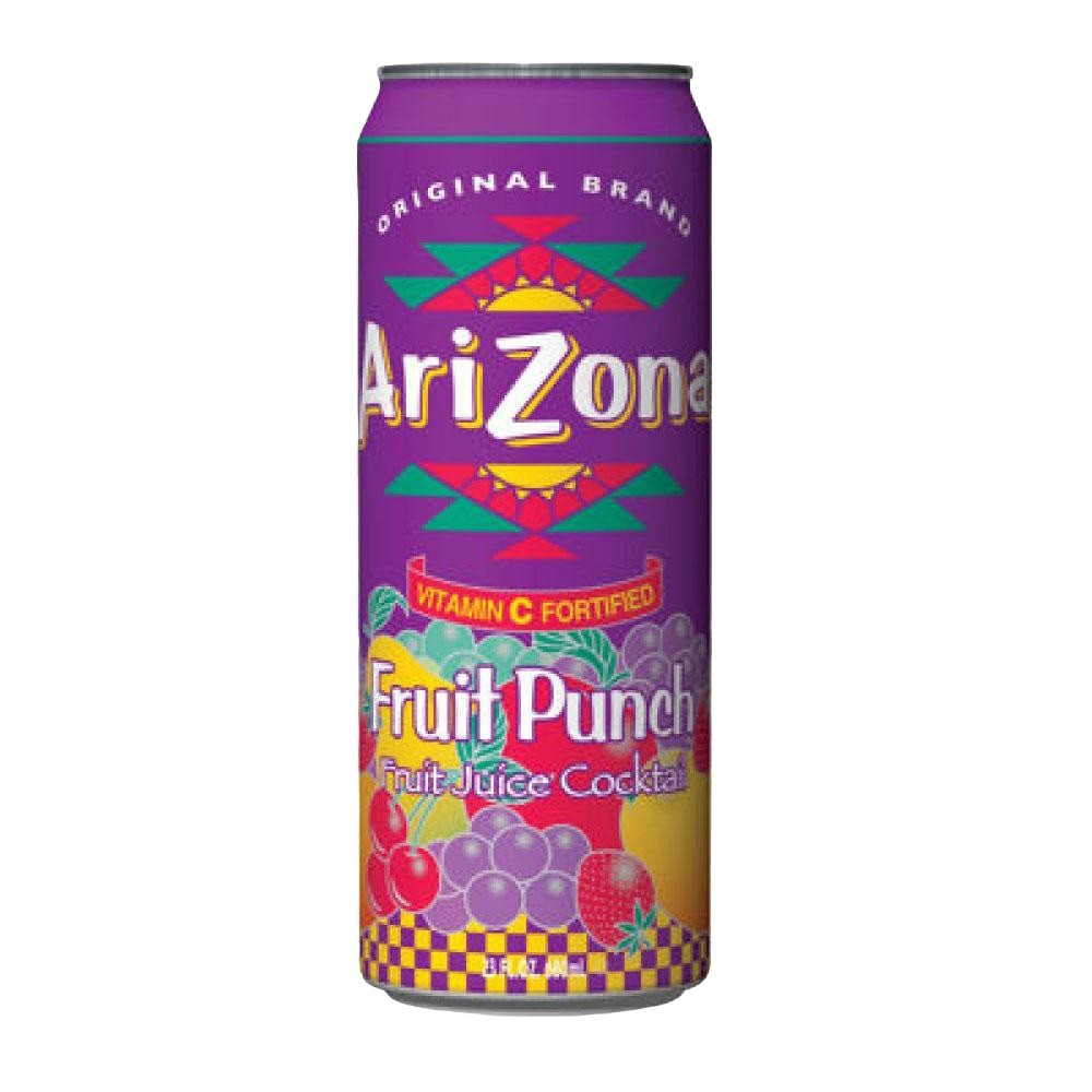 ARIZONA FRUIT PUNCH CAN 23oz - Premier Cru Retail Stores