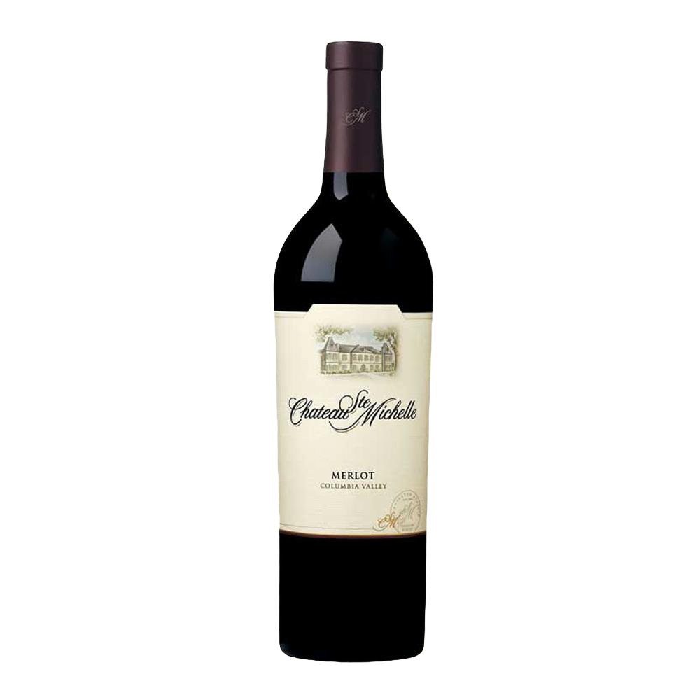 ST MICHELLE MERLOT COLUMBIA VALLEY 75cl - Premier Cru Retail Stores