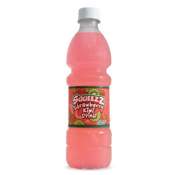 SQUEEZZ STRAWBERRY-KIWI DRINK (PET) 675ml - Premier Cru Retail Stores