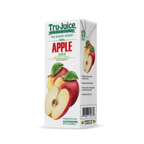TRU-JUICE 100% APPLE JUICE 200ml - Premier Cru Retail Stores