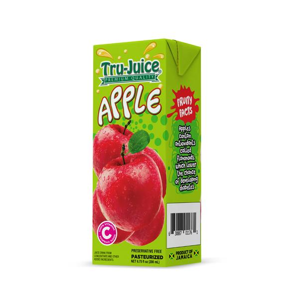 TRU-JUICE 30% APPLE JUICE 200ml - Premier Cru Retail Stores