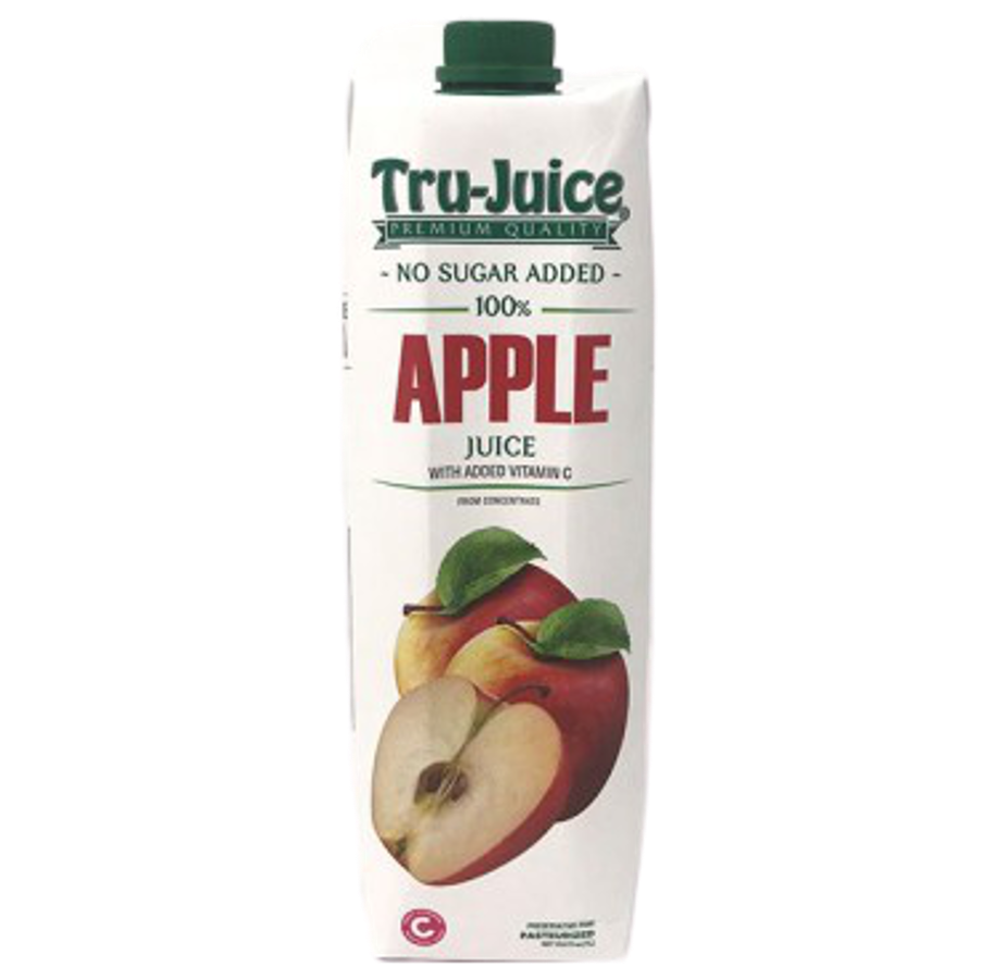 TRU-JUICE 100% APPLE JUICE 1 Litre - Premier Cru Retail Stores