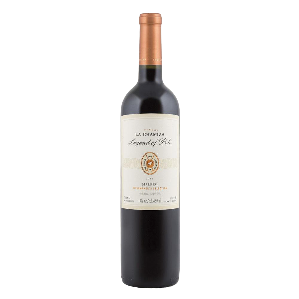 LA CHAMIZA MALBEC 'LEGEND OF POLO' 75cl - Premier Cru Retail Stores