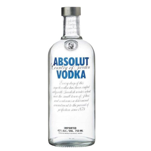 ABSOLUT BLUE VODKA 750ml - Premier Cru Retail Stores