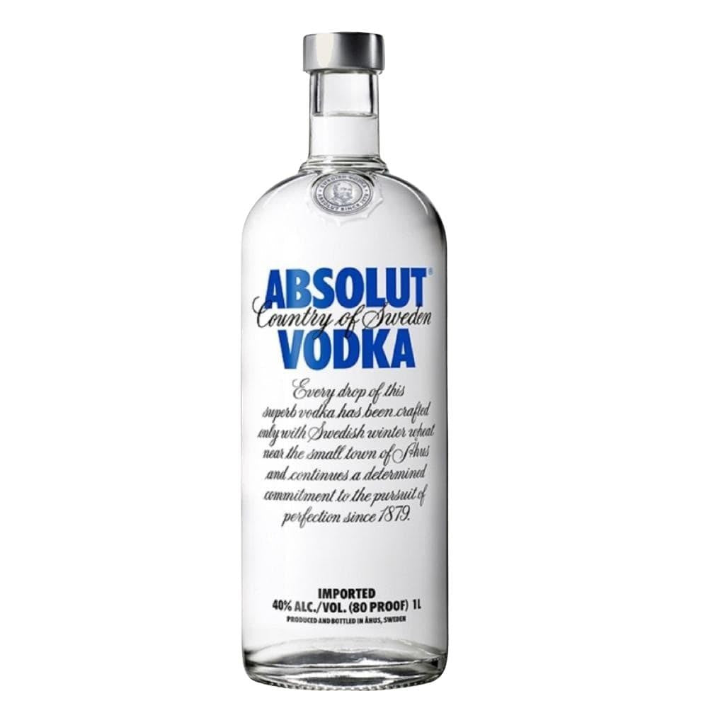 ABSOLUT BLUE VODKA 1 Litre - Premier Cru Retail Stores