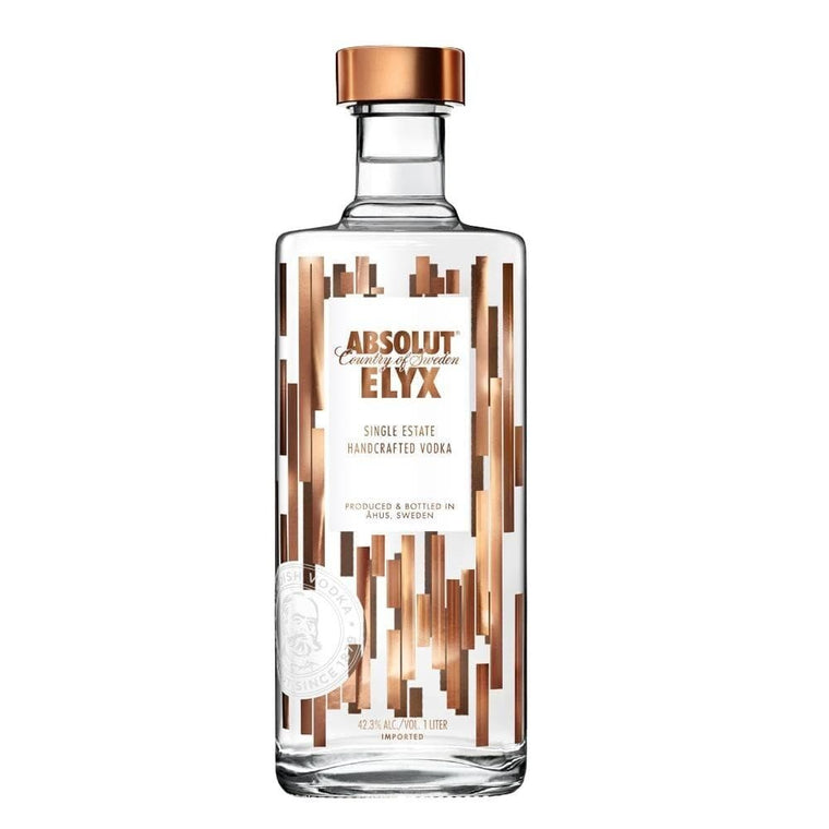 ABSOLUT ELYX VODKA 1 Litre - Premier Cru Retail Stores