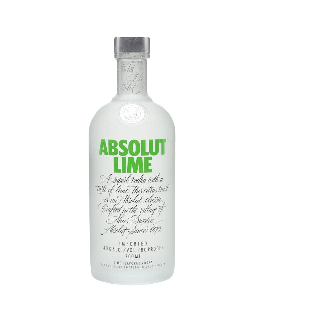 ABSOLUT LIME VODKA 1 Litre - Premier Cru Retail Stores