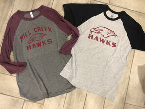 Mill creek Baseball tee Spiritwear